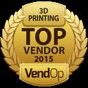 VendOp 3D Printing awards