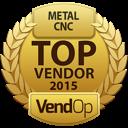 VendOp CNC - Metal awards
