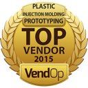 VendOp Plastic Injection Molding Prototyping awards