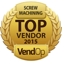 VendOp Screw Machining awards
