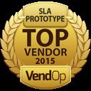VendOp SLA - Stereolithography awards