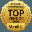 VendOp Raw Plastic Materials awards