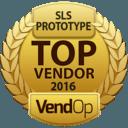 VendOp SLS - Selective Laser Sintering - Metals awards