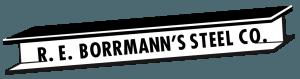 R E Borrman Steel Company logo