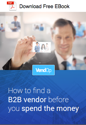 EBook: How to find a B2B vendor before you spend the money